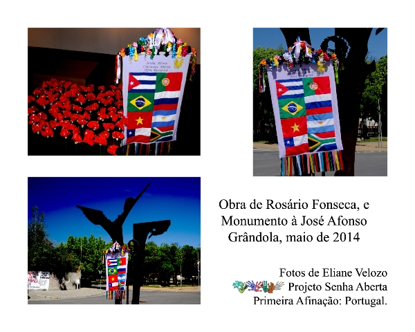 RED -OBRA DE ROSARIO FONSECA E MONUMENTO A JOSE AFONSO cópia