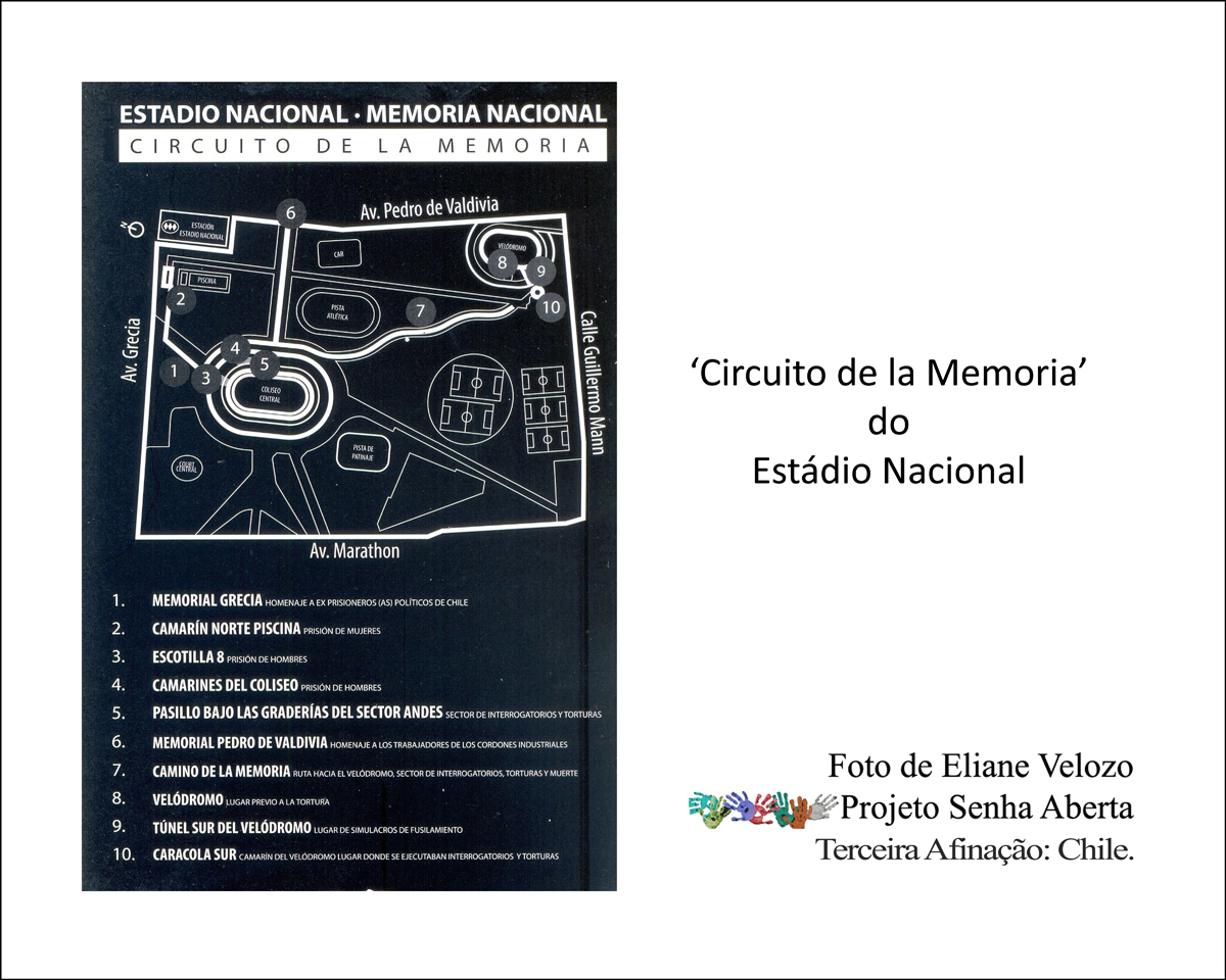 29- ESTADI29NAC DO CHILE MAPA CIRCUITO MEMORIA  cópia