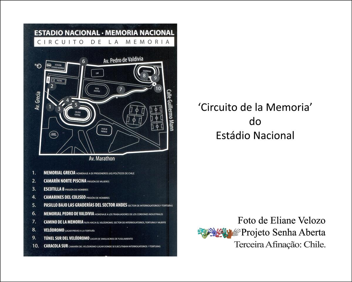 29- ESTADI29NAC DO CHILE MAPA CIRCUITO MEMORIA  cópia