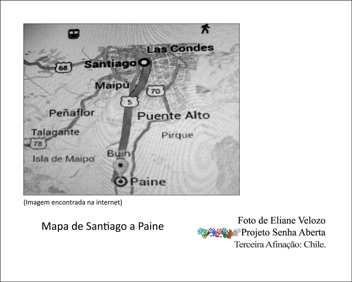 75- MAPA DE SANTIAGO A PAINE