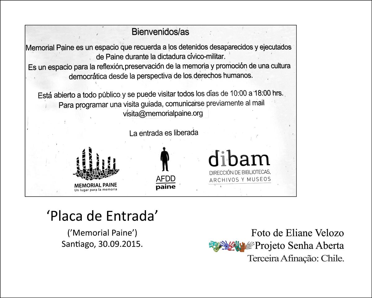 77- PLACA DE ENTRADA- PAINE  cópia